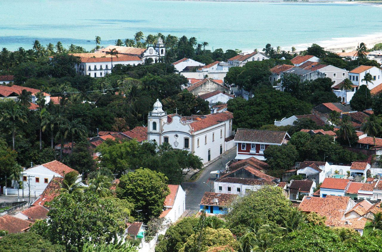 Olinda historical city center