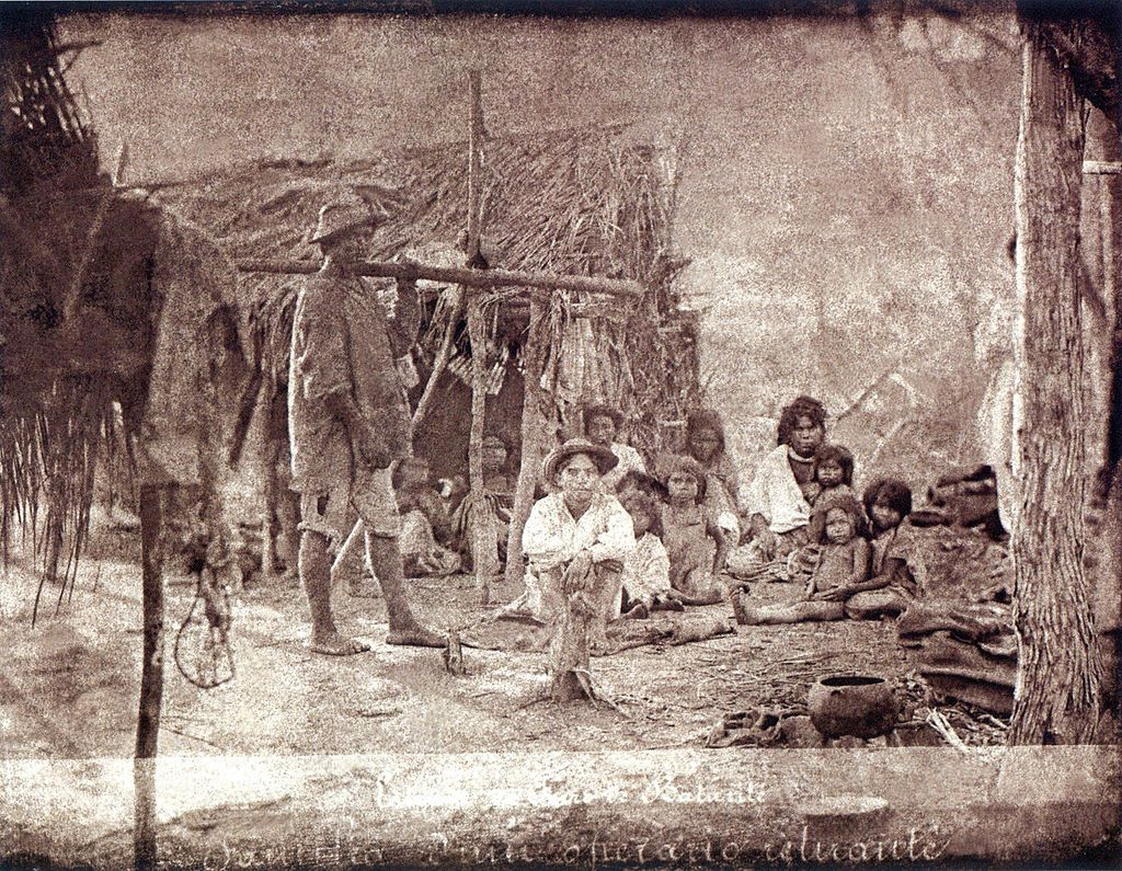 A poor family of caboclos in Ceará province (Brazilian northeast), 1880 - Image: Wikipedia Commons