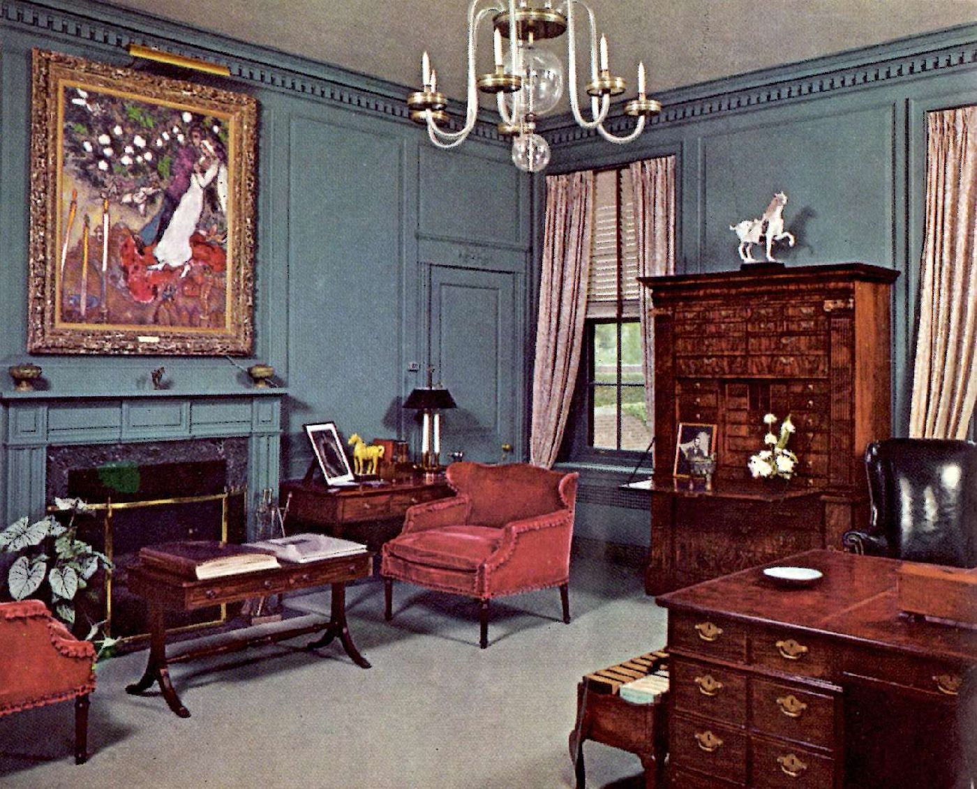 Office of DeWitt Wallace, editor of Reader's Digest