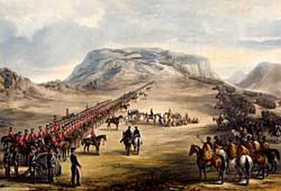 Frontier Wars, South Africa Eastern Cape, artist Thomas Baines